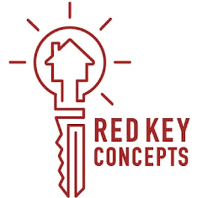 Red Key Concepts Logo