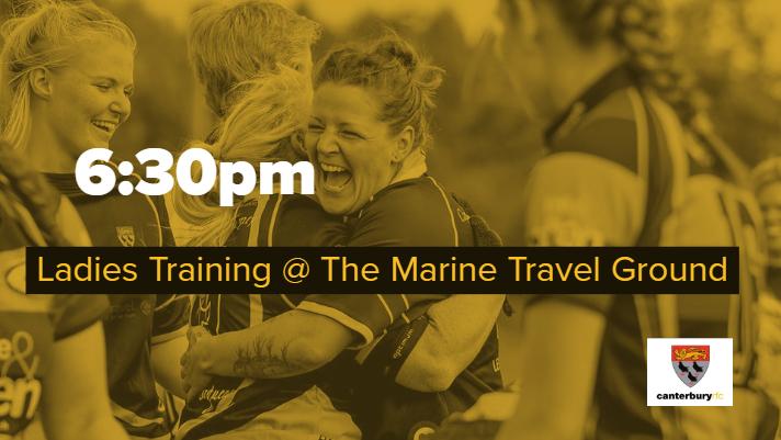 Ladies Training @ The Marine Travel Ground