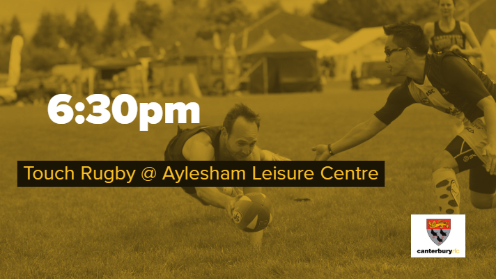 Touch Rugby Adults & Beginners @ Aylehsam Leisure Centre