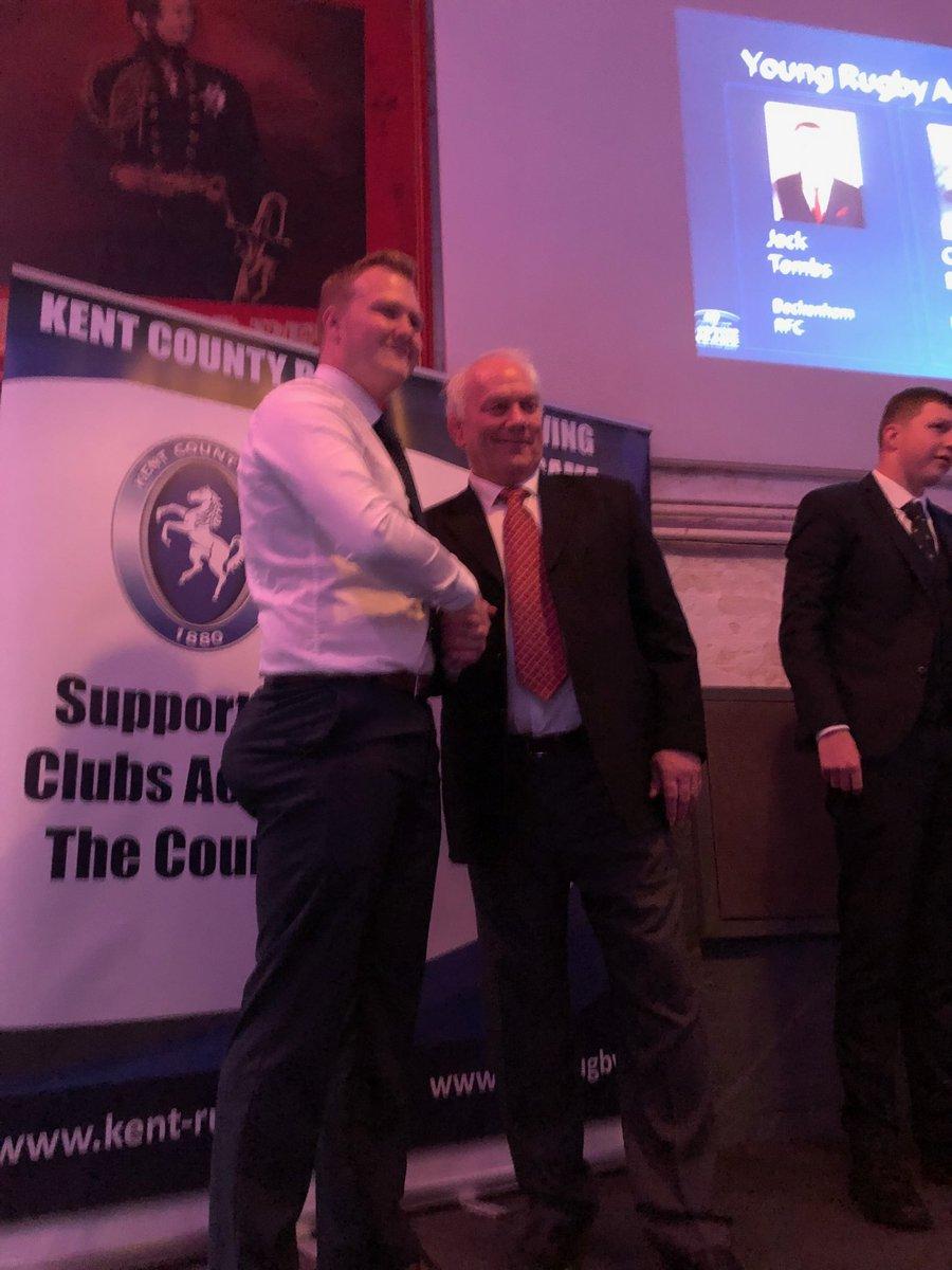 Jake Beesley wins Young Rugby Ambassador of the Year Award
