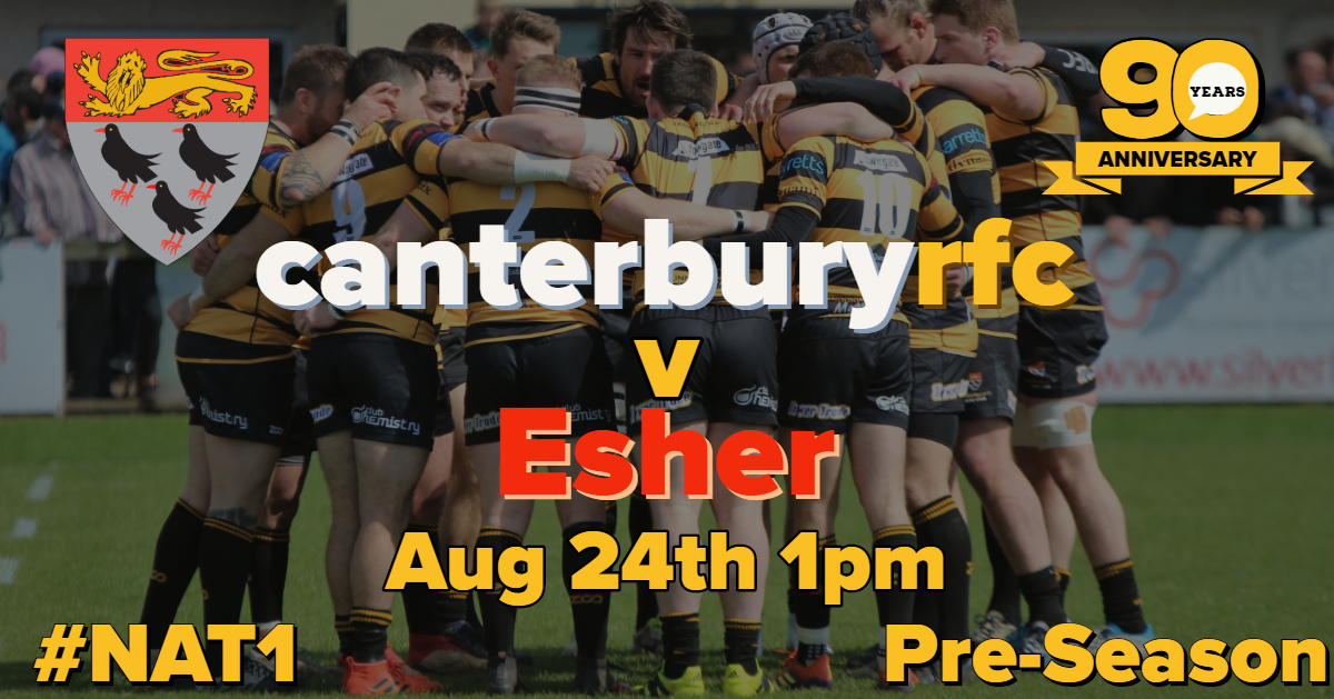 EARLY KICK-OFF FOR ESHER