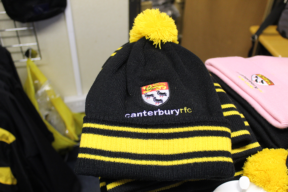 Branded bobble hat