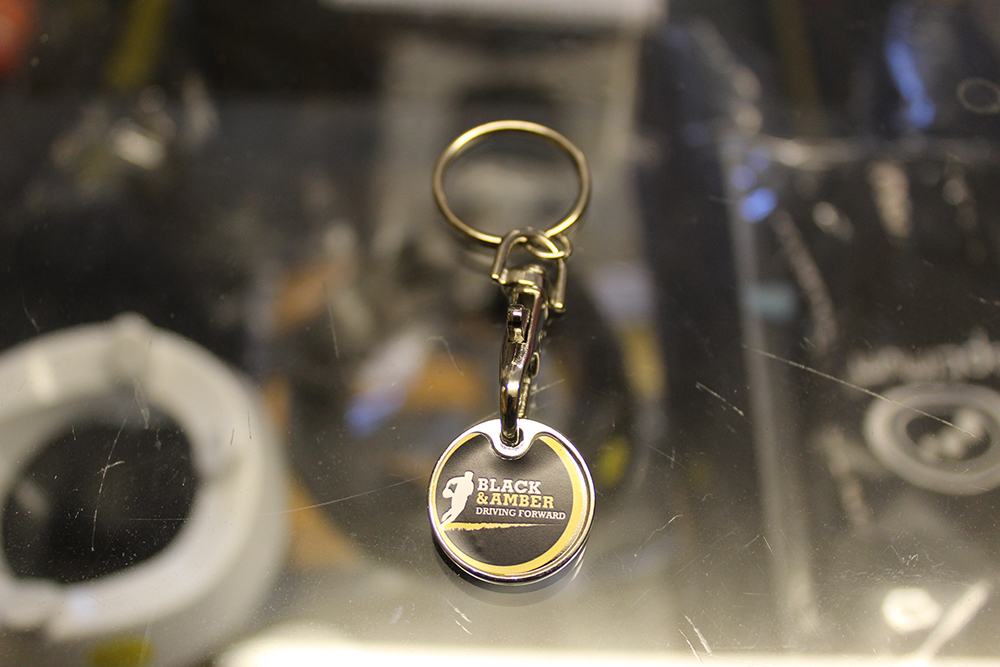 Trolley token available from the club store