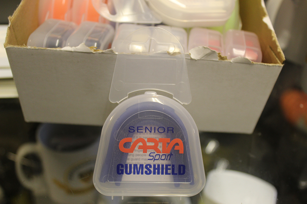 Carta Senior gum shield available from the club store