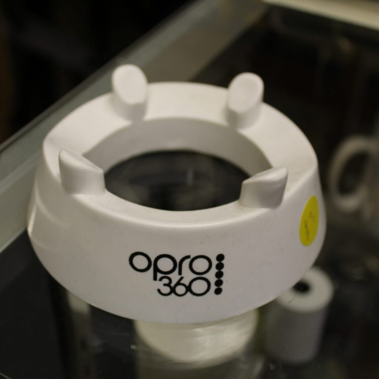 White Opro 360 kicking tee.