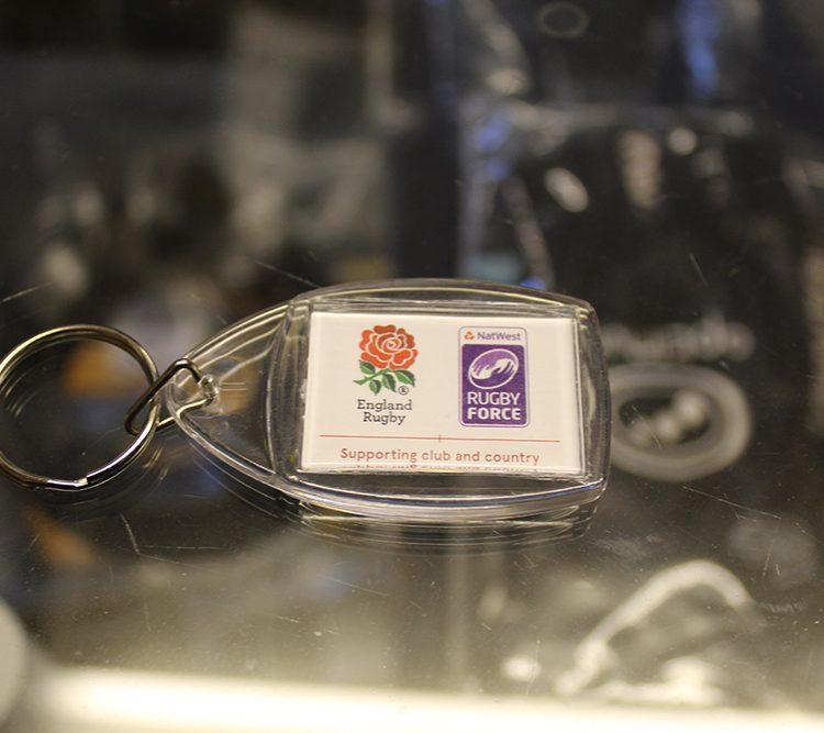 RugbyForce RFU Keyring